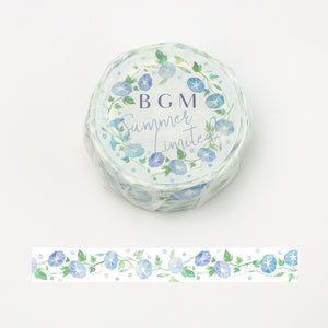 BGM Summer limited edition washi tape - Morning glory BM-SPLN011
