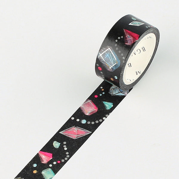 BGM night dream foil washi tape - Gemstone BM-SPND003
