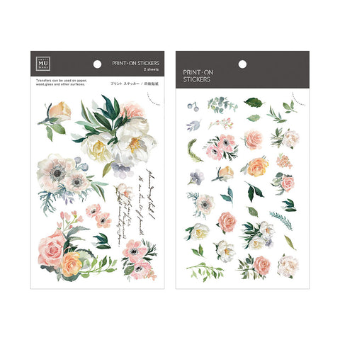 MU print-on sticker - Spring blossom BPOP-001064