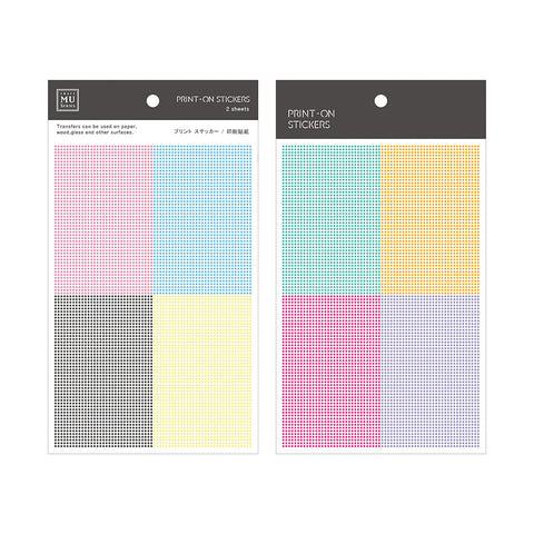 MU print-on sticker - Basic dots BPOP-001061
