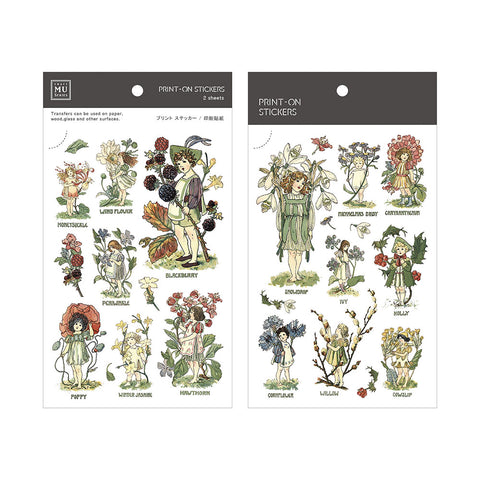 MU print-on sticker - Forest Fairies BPOP-001062