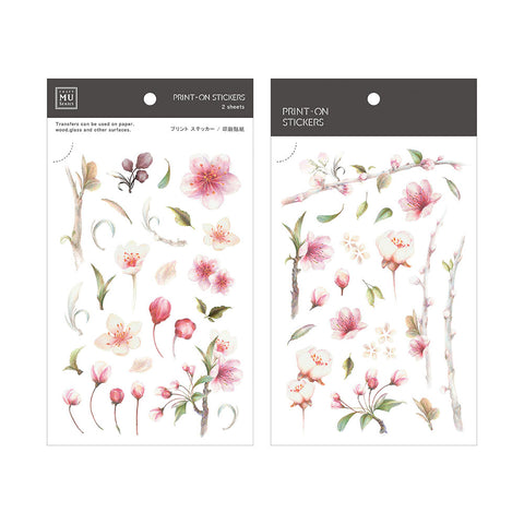 MU print-on sticker - Cherry Blossom BPOP-001075