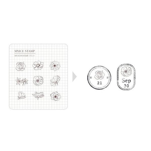 MU my icon clear stamp set #9