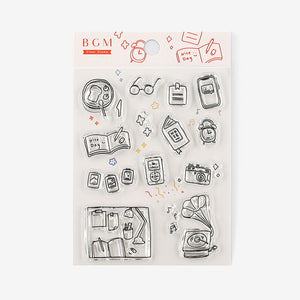 BGM clear stamp set - Daily life BT-CS022