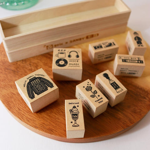 Eric small things x SANBY stamp set - Vol 2 CLBS-ER2