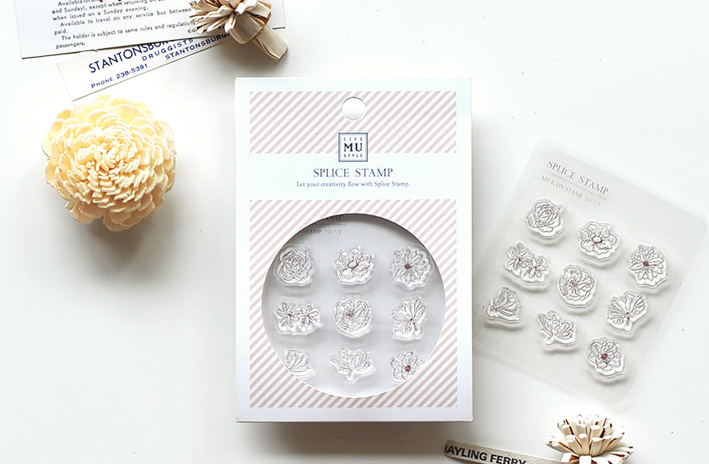 MU my icon clear stamp set #8 BSS002009