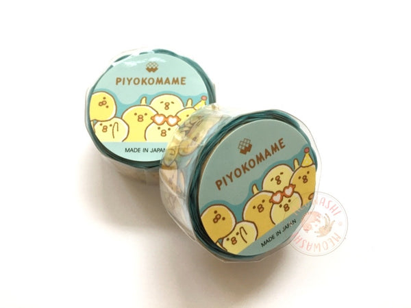 Mind Wave Piyokomame die cut washi tape - Party 94924