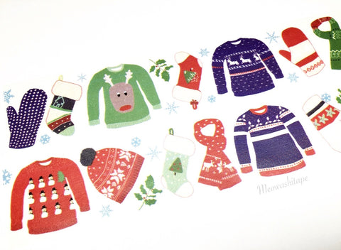 Aimez le style wide - Christmas wardrobe washi tape E05526