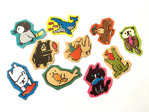 Mind Wave - Animal collection sticker flakes