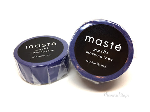 Mark's maste BASIC - Plain blue washi tape