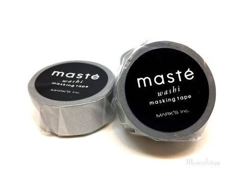 Mark's maste BASIC - Silver washi tape