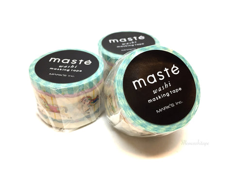 Mark's maste MULTI - Merry-go-round washi tape