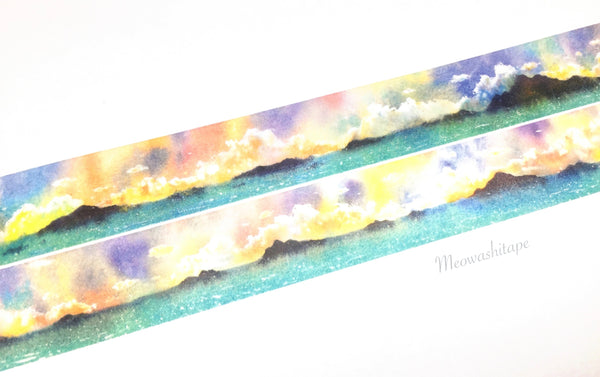 The dreamland scenery washi tape