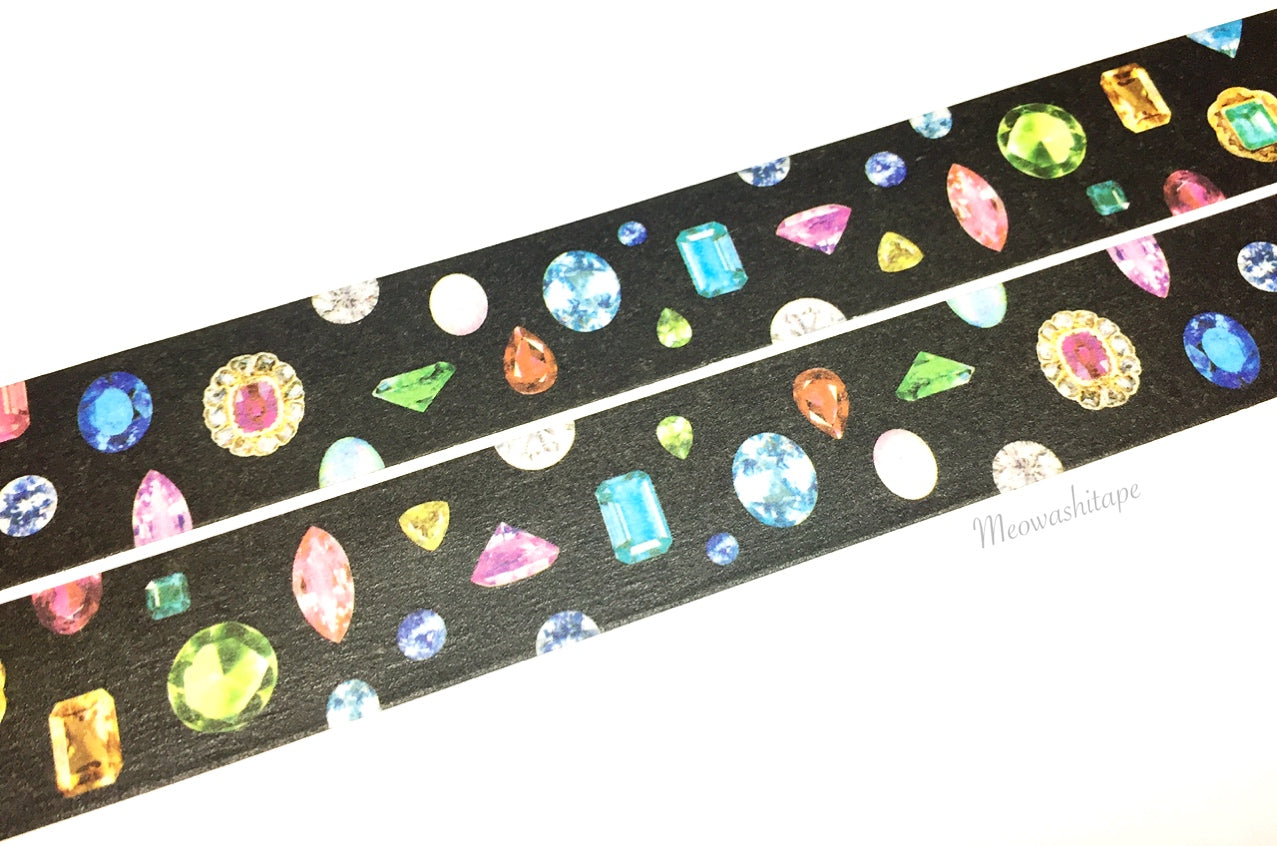 Kamoi mt X'mas - Gem washi tape