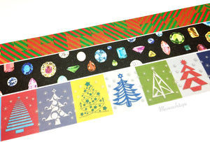 Kamoi mt X'mas 2016 washi tape set - Style C