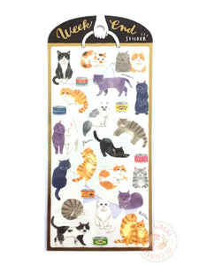 Mind Wave weekend sticker - Cats 79517