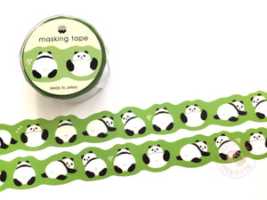Mind Wave - Panda butt die cut washi tape 94222