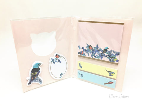 Mark's X PAUL & JOE Sticky notes set- La Papeterie C