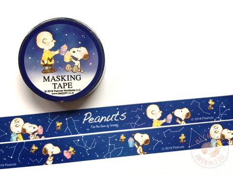 Snoopy constellation washi tape 23157