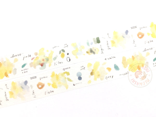 Liang Feng Watercolor Guide Vol.2 washi tape - Flower MTW-LF069