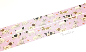 Franchelippee - Puppies washi tape AR030-86