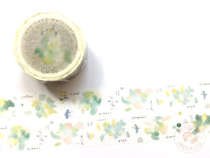 Liang Feng Watercolor Guide Vol.2 washi tape - Spring MTW-LF070