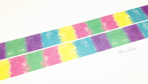 Rink color collection - Color fragments washi tape