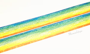 Rink color collection - Crayon rainbow washi tape