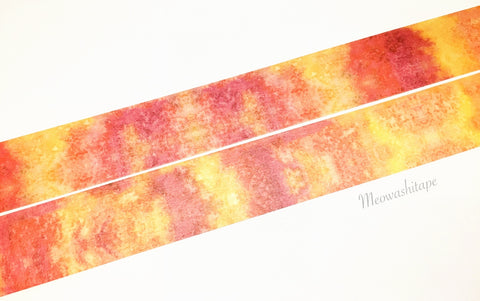 Rink color collection - Sunset washi tape