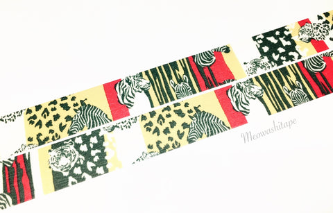 Mark's maste x marble SUD - Safari washi tape