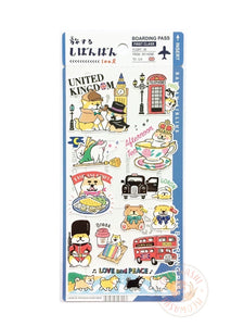Mind Wave Shibanban travels around the world sticker - United Kingdom 79431