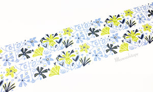 Kamoi mt x BENGT&LOTTA - alma blue washi tape