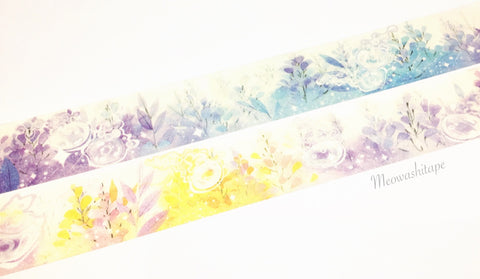 Vines and jellyfish washi tape