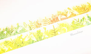 Butterfly garden washi tape