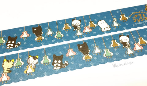 Round Top x Tama and friends - Chandelier gold foil die cut washi tape