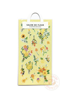 Mind Wave salon de fleur sticker - Yellow 79622