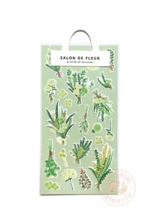 Mind Wave salon de fleur sticker - Green 79623