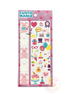 Mind Wave custo mania sticker - Party 79743