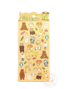 Mind Wave embroidery sticker - Forest animals 79760