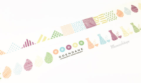 Sunny Sunday - Hitachiota Jizake project washi tape