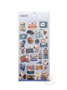 Kamio Collect like sparkle stickers - Snoopy 23916