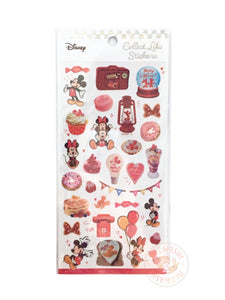 Kamio Collect like sparkle stickers - Mickey and Minnie 23918