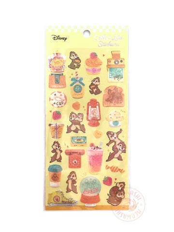Kamio Collect like sparkle stickers - Chip and Dale 23919