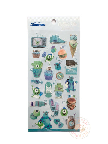 Kamio Collect like sparkle stickers - Monster University 23922