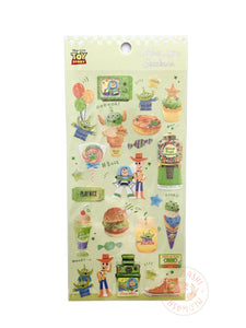 Kamio Collect like sparkle stickers - Toy story 23923