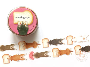 Mind Wave delish time collection - Dog die cut washi tape 94390