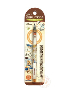 Disney Donald Chip and Dale Kuru Toga mechanical pencil 09759