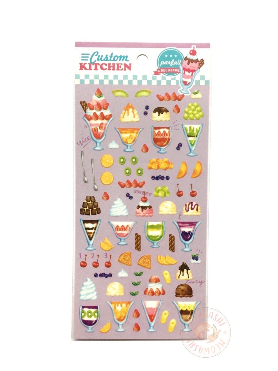 Mind Wave custom kitchen sticker - Parfait 79814