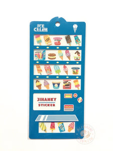 Mind Wave jihanky sparkle sticker - Ice cream 79772