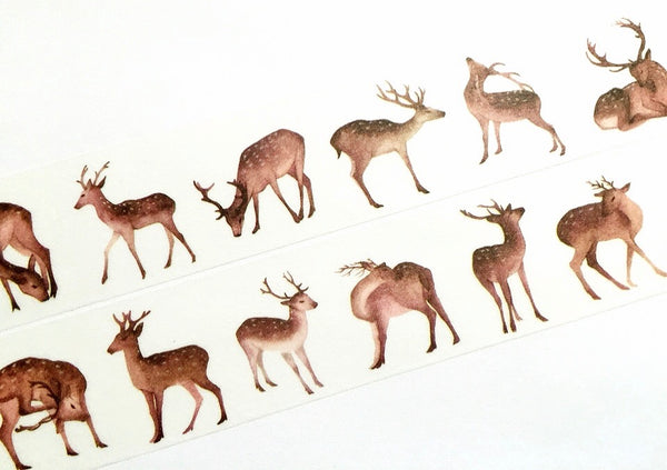 Lovely deer washi tape